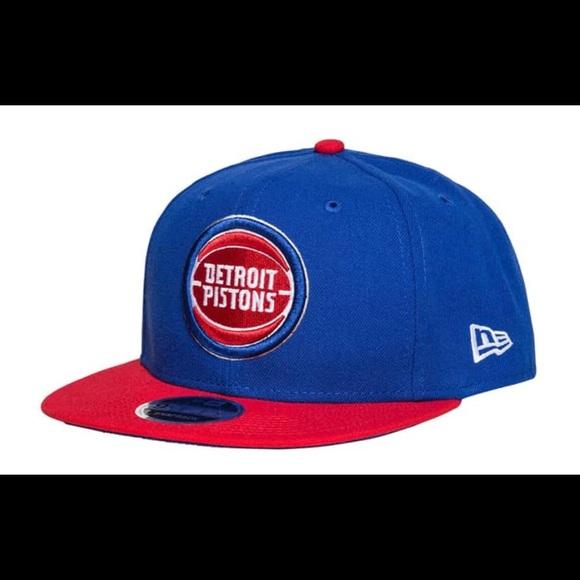 promo code bc9f5 72795 New era Detroit Pistons 9Fifty 2 tone snapback hat